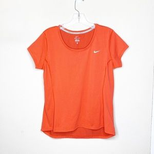 Nike Red Short Sleeve Top